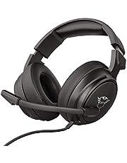 Trust GXT 433 Pylo Gaming Headset/Kopfhörer (mit flexiblem Mikrofon, für PS4, Xbox One und PC) Schwarz