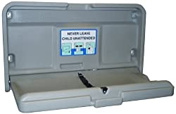 """Impact 1170 Gray Baby-Changing Table, 36"""" Length x 20-1/2"""" Width x 4-1/2"""" Height"""