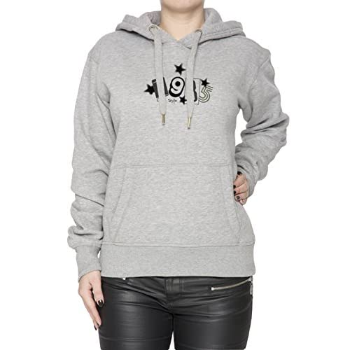 new concept 761df 3a6cd Urban Style 198 Gris Algodón Mujer Sudadera Sudadera Con Capucha Pullover  Grey Womens Sweatshirt Pullover Hoodie