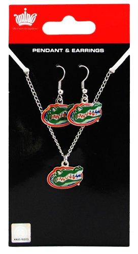 Florida Gators - NCAA Earrings & Pendant Necklace Gift Set by aminco