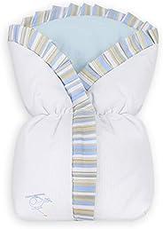 Saco de Bebê Avião 100% Algodão, Laura Baby, Azul