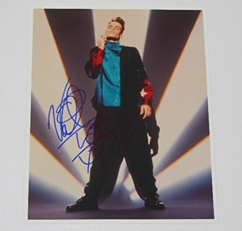 Vanilla Ice To The Extreme Rob Van Winkle Authentic Signed Autographed 8x10 Glossy Photo Loa