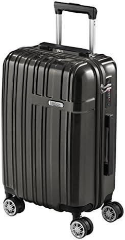 chaussures de séparation 876fb d38c5 Jeu de 2 Valises de Voyage SULEMA fabriquées en ABS et Polycarbonate Set de  valise Trolley Rigide, Super Légère et Résistante à Serrure TSA et 4 ...