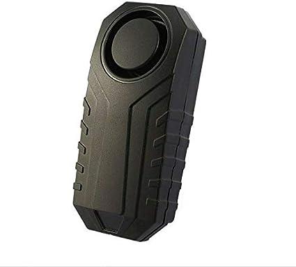 Alarma para bicicleta inalámbrica de 113 dB, antirrobo, vibración ...
