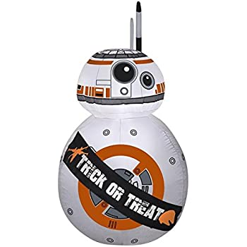 Amazon.com: airblown BB-8 Star Wars Halloween inflable ...