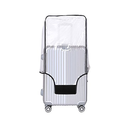 Yotako Clear PVC Suitcase Cover Protectors 20 24 28 30 Inch Luggage Cover for Wheeled Suitcase (30