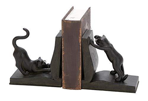 sujeta libros decoracion estilo gatos