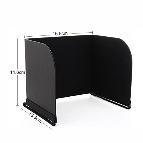 Price comparison product image Favrison 7.9inch L168 Black FPV Phone Monitor Sun Shade Cover Tablets Pad Hood for DJI Phantom 4 / 3, Mavic Pro, Inspire, OSMO, M600 Monitor Remote Controller for IPad mini2 / 3 / 4, SamSung Galaxy Tab A / S2