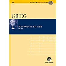 Piano Concerto in A Minor Op. 16: Eulenburg Audio+Score Series