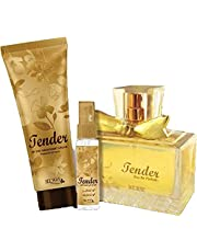 Tender Set for Women with a Parfum, Deodorant Cream, Perfumed Spray Hairdresser
