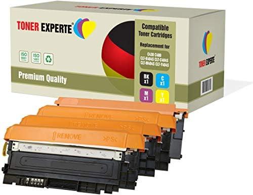 Pack de 4 TONER EXPERTE® Compatibles CLT-K404S C404S M404S Y404S ...