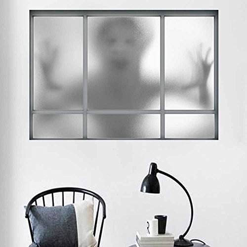 OTTATAT Wall Stickers For Living Room 2019,Happy Halloween Household Room Mural Decor Decal Removable Terror Easy to peel Birthday Wedding night Gift for bride Under 5 dollars]()