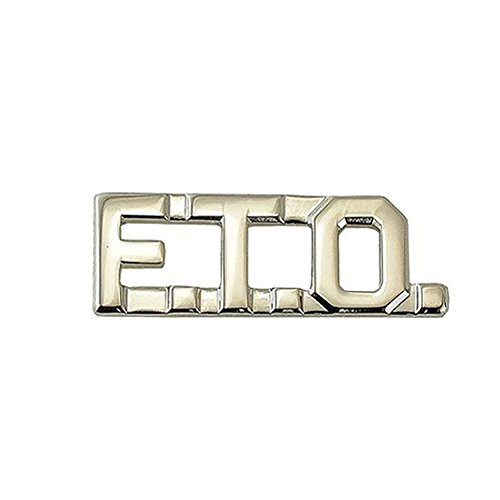 - First Class FTO Field Training Officer Collar Lapel Pin Insignia (Pair) - Nickel