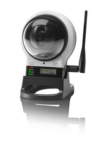 Cisco WVC210 Wireless-G PTZ Internet Security Video Camera with 2 Way (Cisco Surveillance Camera)