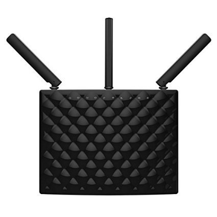 Tenda AC15 AC1900 Wireless Wi-Fi Gigabit Smart Router, Black. Dual Core Processor, Beamforming Technology, Parental Controls, All Gigabit ports Tenda APP supported.