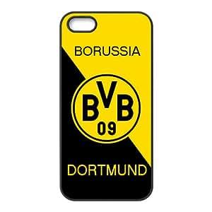 For iphone 5s Black Custom Phone Case for Borussia Dortmund 16Diseño