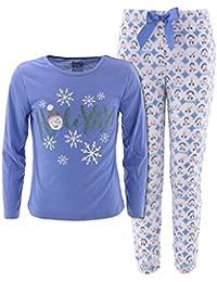 Big Girls' Holiday Christmas Pajamas