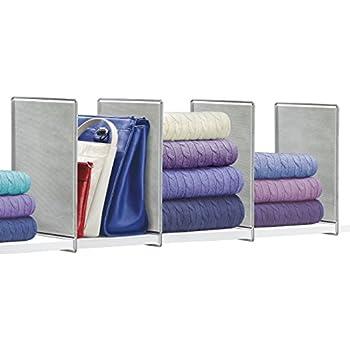 Amazon.com: Household Essentials 01812 Six-Shelf Sweater Organizer , Cotton blend: Home & Kitchen