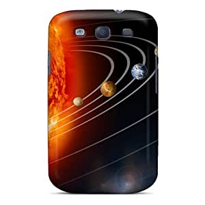 High-end Case Cover Protector For Galaxy S3(solar System)