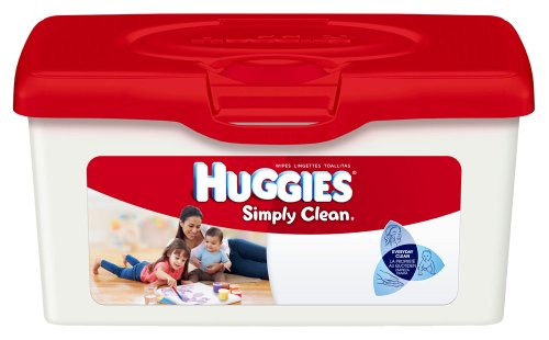 Huggies Simply Clean Fragrance Free Baby Wipes, 72 Count