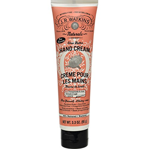 J.R. Watkins Hand Cream - Pomegranate and Acai - Paraben Fre