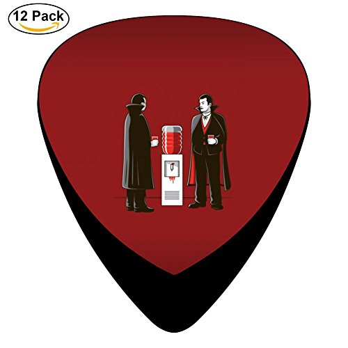 Miufun Guitar Picks Vampires Custom Three Size Electric Celluloid Plectrums - Vampire Picks