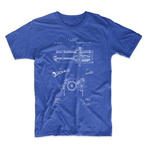 Edison Phonograph Patent T Shirt