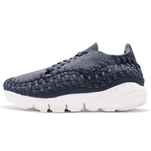 NIKE Womens Wmns Air Footscape Woven HK, Thunder Blue/Thunder Blue Thunder Blue/Thunder Blue