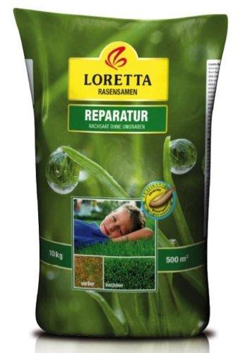Loretta Reparatur Rasen | 10 kg Rasenreparatur ohne Umgraben