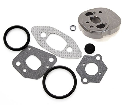 HASMX 530069608 530049700 Chainsaw Carburetor Adapter Gasket Set for Poulan Craftsman Snapper 1950 2050 2055 2075 2450 2550 P220 PP221 Preadator Chain Saws Carb Spacer Adapter