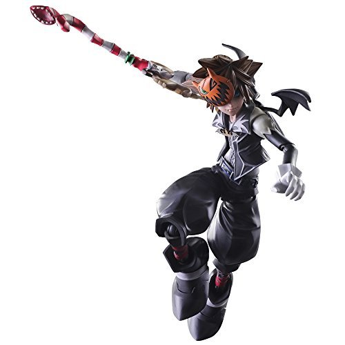 Square Enix Kingdom Hearts II Halloween Town Sora Play Arts Kai Action Figure]()