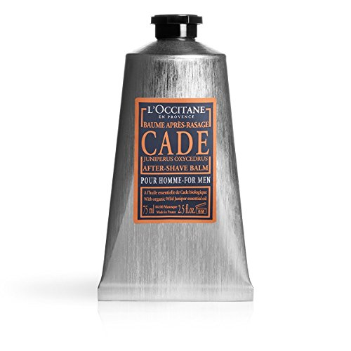 L'Occitane Soothing Cade After Shave Balm for Men with Shea Butter, 2.5 fl. oz.