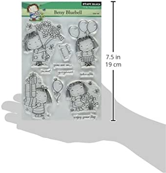 Betsy Bluebell Penny Black Clear Stamp Set