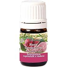Rose Geranium Pelargonium Capitatum x Radens 100% Pure Essential Oil 0.17 Fl Oz/5 Ml