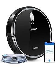 ECOVACS DEEBOT 715 Robot aspirapolvere, Smart Navi 2.0 (Visual navigazione), Aspirazione e lavaggio, controllo tramite App e compatibile con Alexa, Ideale per pavimenti duri/tappeti/peli di animali