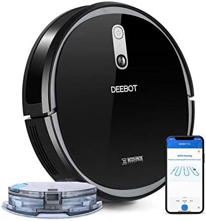 ECOVACS Robotics DEEBOT 715 - Robot Aspirador con función de Limpieza - Robot Aspirador con Sistema de navegación, Control de Alexa y aplicación: Amazon.es: Hogar