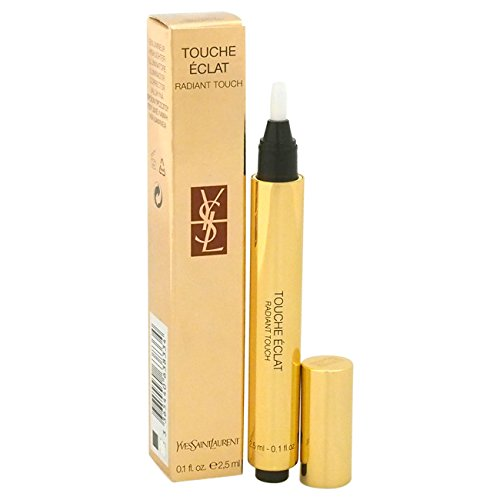 Yves Saint Laurent Touche Eclat Radiant Touch Concealer Luminous Honey for Women, 0.1 Ounce