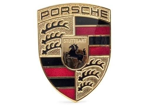 PORSCHE Hood Emblem Brand New GENUINE PORSCHE