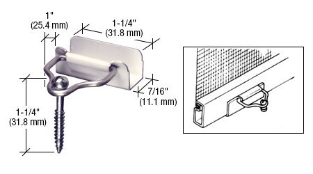 CRL White Slip-On Bail Latch With Screw  - Bail Latch Shopping Results