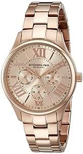 "Stuhrling Original Women's 391L.04 ""Symphony Regent Majestic"" Rose Gold-Tone Stainless Steel Watch"