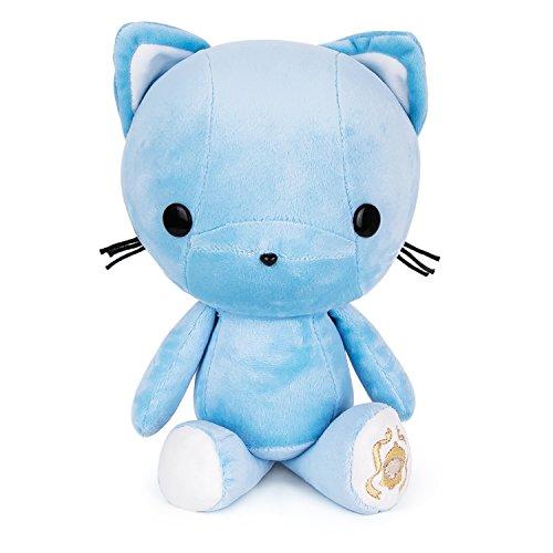 - Bellzi Blue Kitty Stuffed Animal Plush Toy - Adorable Plushie Toys and Gifts! - Kitti