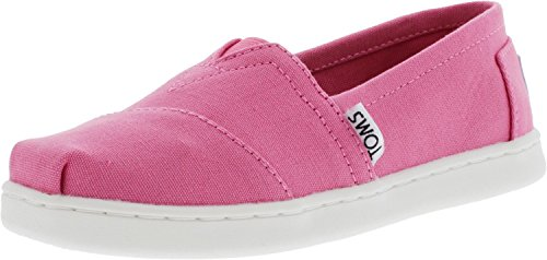 TOMS Girls' 10009919 Alpargata-K, Pink, 12 M US Little Kid -