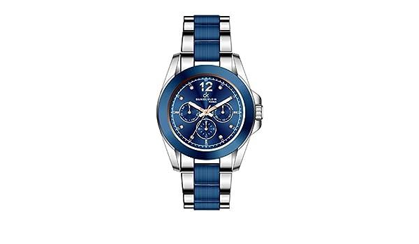 Reloj Daniel Klein Azul en Acero Bicolor Reloj para mujer: Amazon.es: Joyería