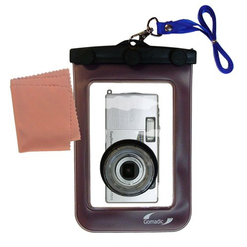 Gomadic防水カメラ保護バッグSuitable for the Kodak ls633 – UniqueフローティングデザインKeepsカメラClean and Dry   B0049KKO12