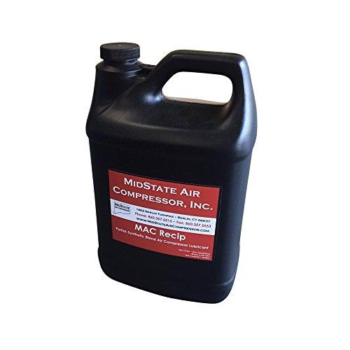 MAC Reciprocating EXTENDED LIFE Air Compressor Lubricant Oil (1 (Mac Compressor)