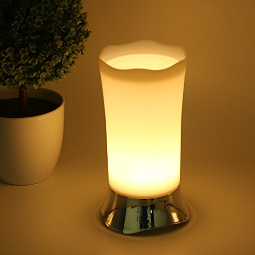 Battery Operated Lamps, Cordless LED Mini Lamp with Motion Sensor, Small  Night Light for Home Living Room Kitchen Bedroom Bathroom Hallway Tables,  ...