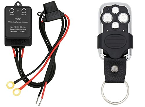 AdLuminis Funkfernbedienung f/ür LED Arbeitsscheinwerfer und LED Light Bars 12V 24V