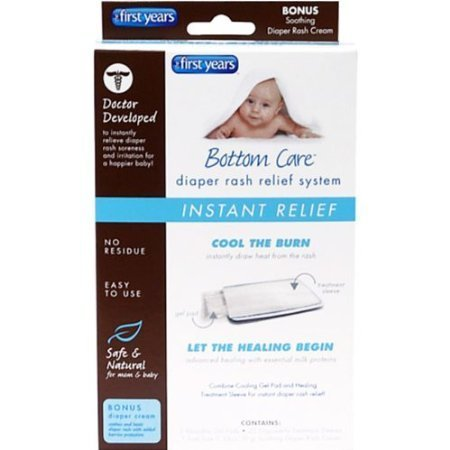 Bottom Care Diaper Rash Instant Relief System - Case Pack of 12 by Judastice