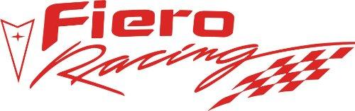 (Pontiac Fiero Racing Decal (Red))