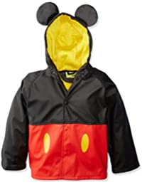 Western Chief Kids Disney Character lined Rain Jacket, Mickey Mouse, 5